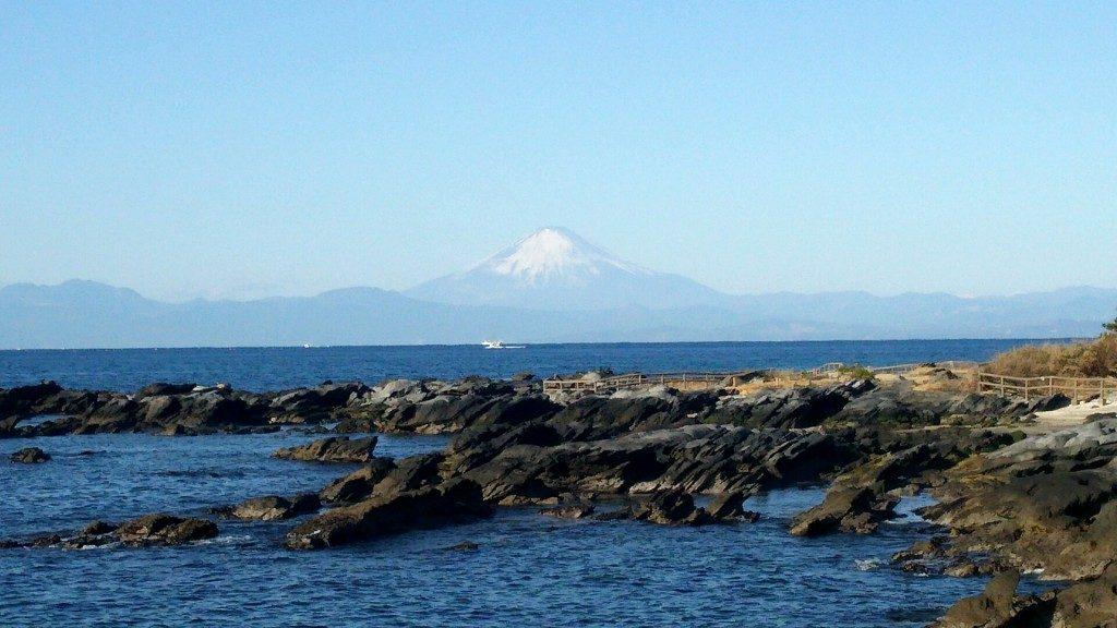 念願の富士山!