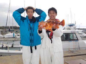 釣人:小林琉晟様